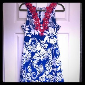 Lilly Pulitzer size 6 summer shift